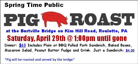 4-29 Pig Roast, Burtville Bridge