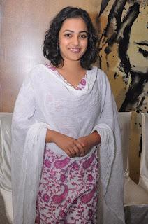 Nitya Menon Latest Cute Photos At Malini 22 Press Meet Event