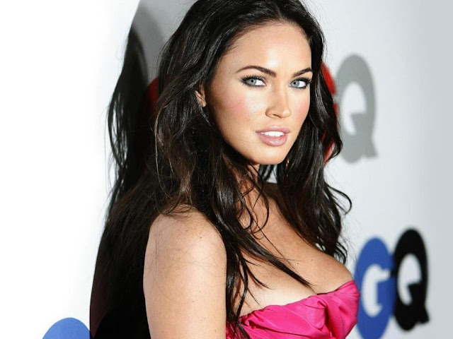 megan fox wallpaper bike. megan fox transformers 2 ike.