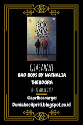 Giveaway : Bad Boys #3 by Nathalia Theodora
