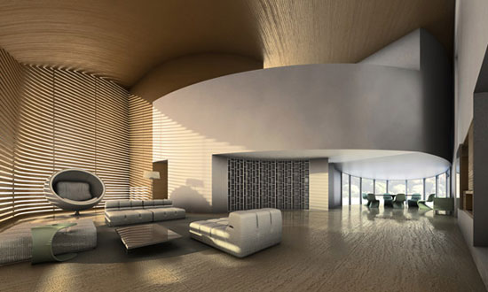Artistic and simple interior design for your residence for Oficinas minimalistas