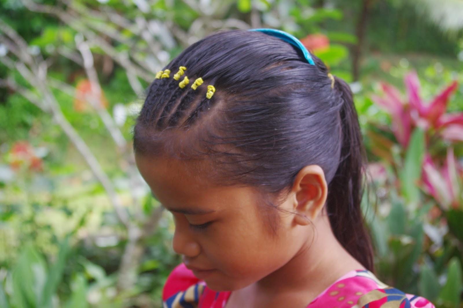 Braids & Hairstyles for Super Long Hair: Micronesian Girl~ Cornrow ...