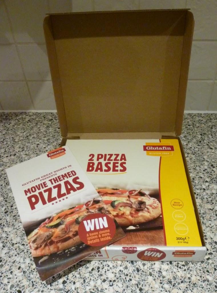 The Glutafin gluten free pizza bases