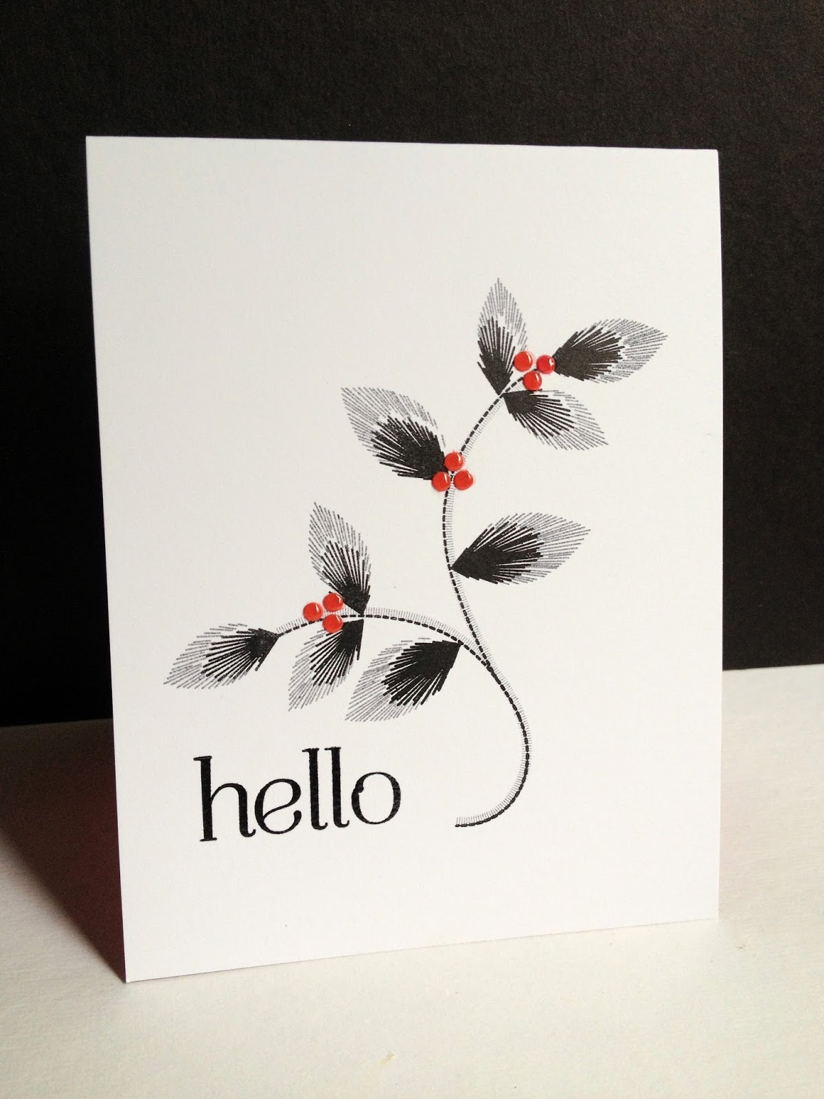Im in haven three embroidered blooms cards im in haven kristyandbryce Image collections