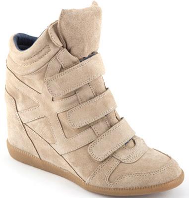 sneakers con cuña Hakei