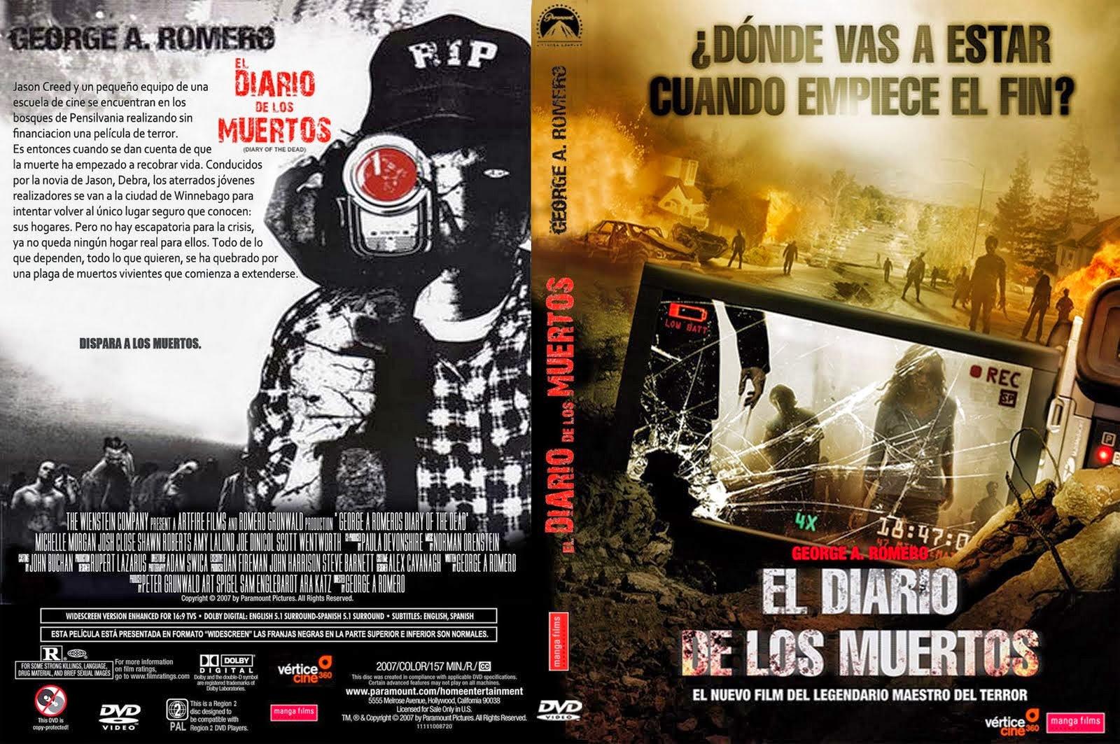 El Diario De Los Muertos DVD