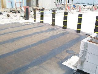 waterproofing membrane pada atap gedung
