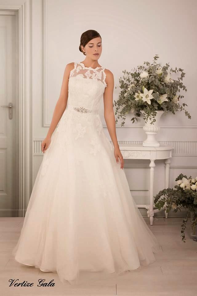 las bodas de raquel: vestidos de novia vertize gala