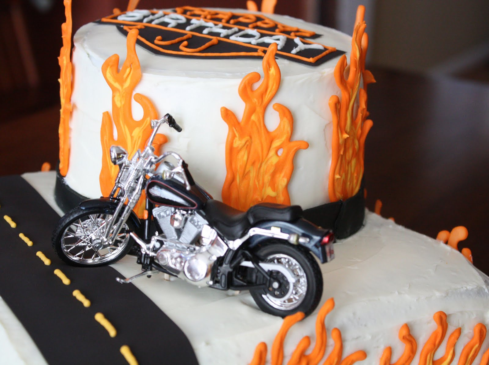 Image Result For Harley Davidson Birthday Cakes