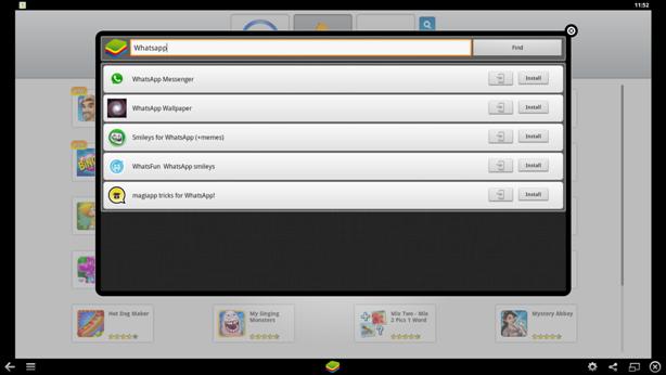 WhatsApp On PC, Laptops, Mac, BlueStacks Screen Shot