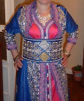 takchita rose bleu du maroc