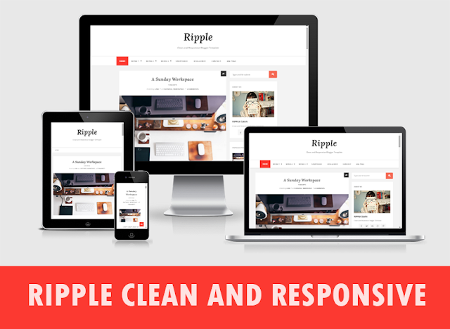 Ripple Clean Responsive