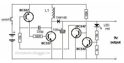 electronics circuit  u0026 computer zone  1 5 volt to 9 volt