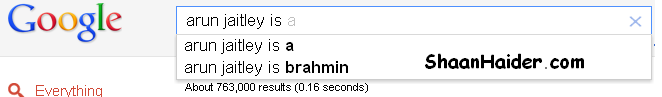 Indian Politicians On Google