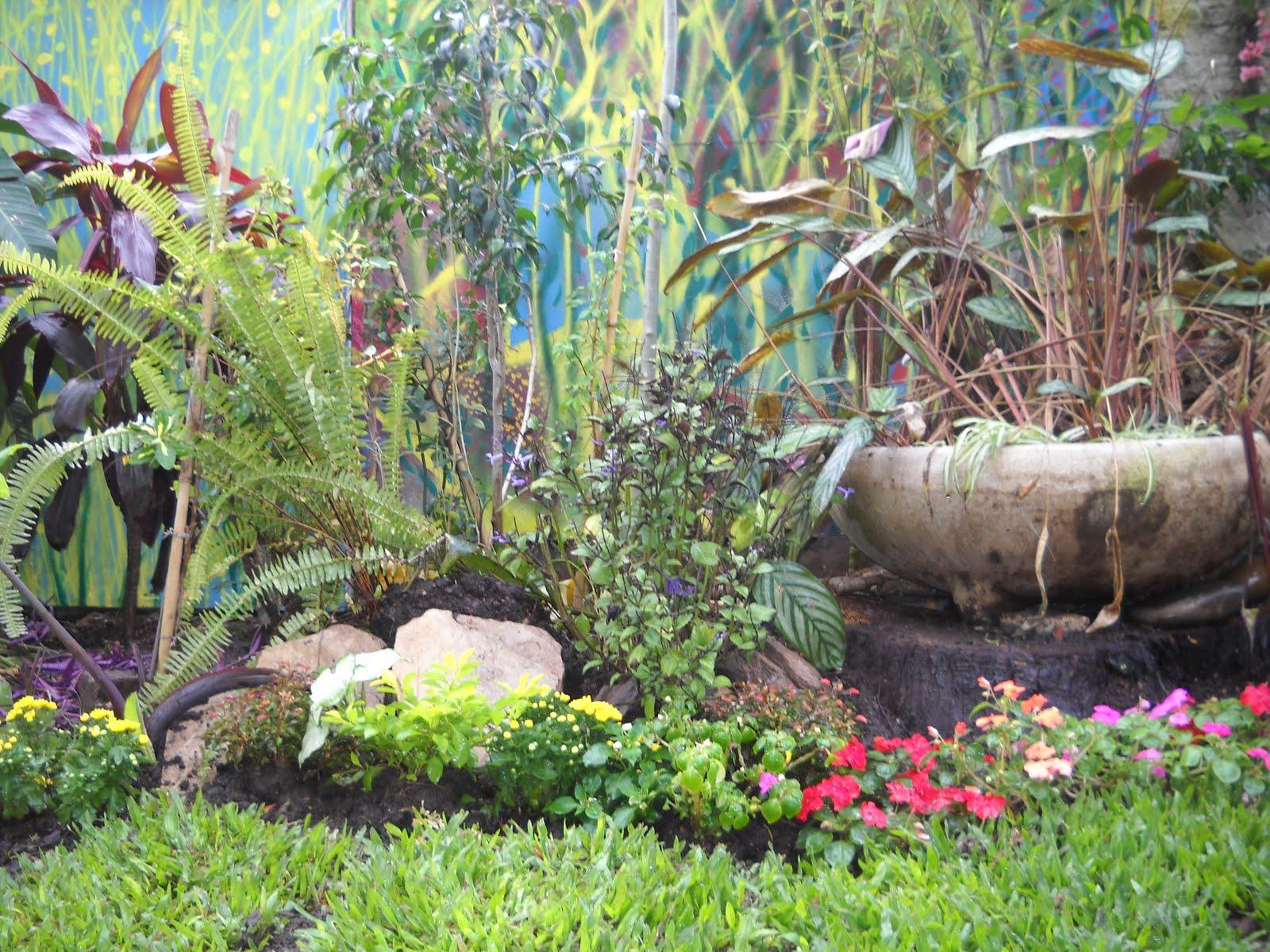 Decoraciones de patios exteriores tattoo design bild - Decoraciones de jardin ...