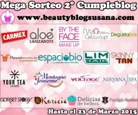 Mega Sorteo 2º Cumpleblog BeautyBlogBySusana