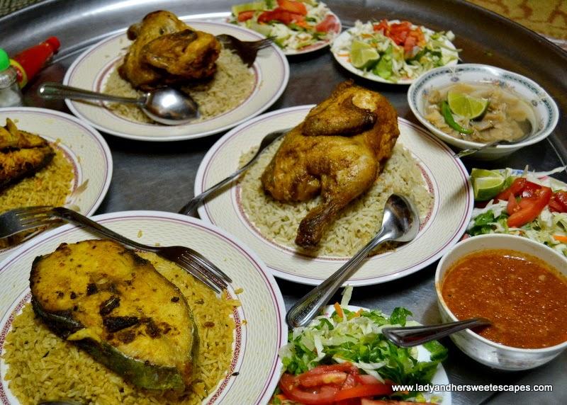 authentic Omani cuisine