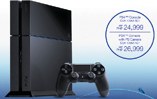 Sony PlayStation 4 Price and Availability in the Philippines | Specof.com