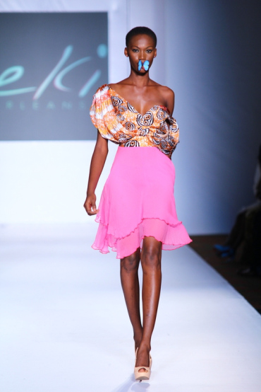 MTN Fashion And Design Week 2012: Eki Orleans nigerian fashion