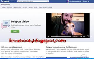 Cara Setting Chatiing Video Call Di facebook