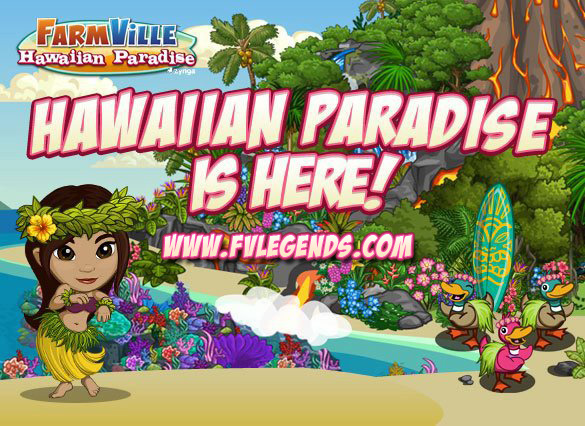 FarmVille Unreleased Hawaiian Paradise Loading Screen - FvLegends.Com