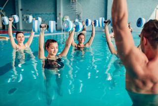 Hidroterapia é campo de trabalho para Fisioterapeutas