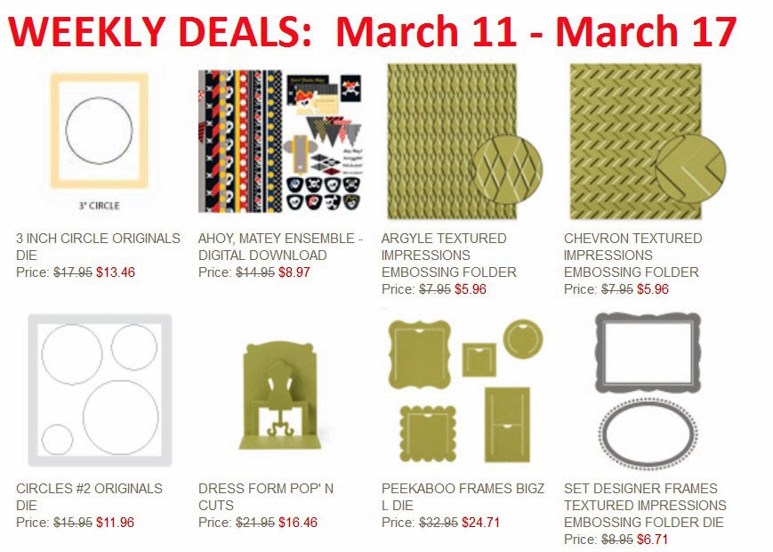 Stampin'UP!'s Deal of the Week for March 11, 2014