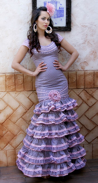 Margarita Freire trajes flamenca
