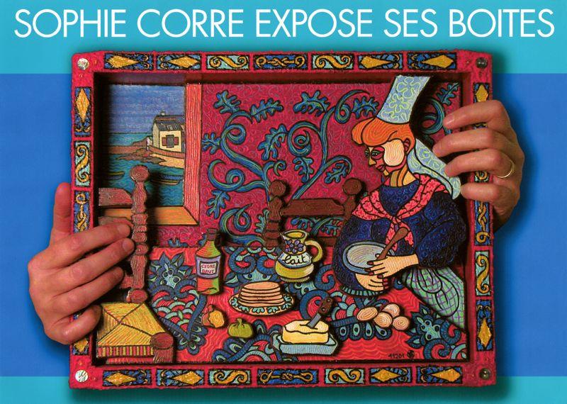 SOPHIE CORRE EXPOSE SES BOITES