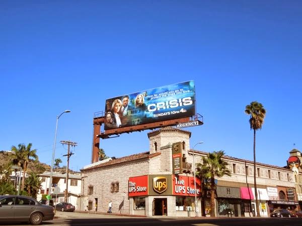 Crisis series 1 billboard