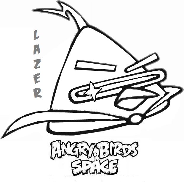 Imagenes de Angry Birds space para colorear e imprimir - Imagui