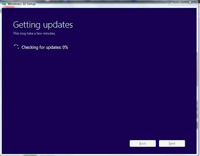 Windows 10 getting updates