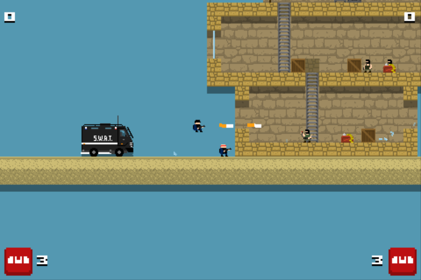 Play BroForce a free online game on Kongregate