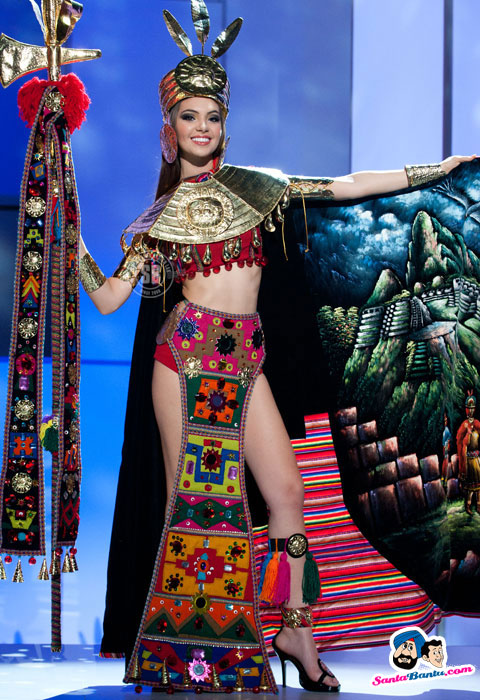 Netherlands National Costume http://tragoudasmaria.blogspot.com/2011/09/miss-universe-2011-national-costume.html
