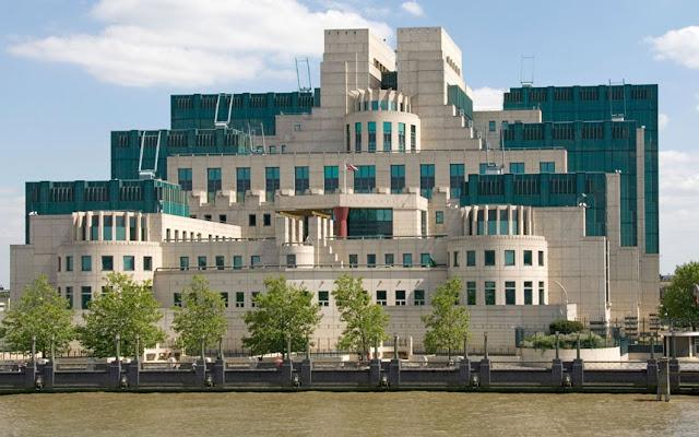 Servicio de Inteligencia Secreto (SIS), también conocido como edificio del MI6 en Vauxhall, Londres.