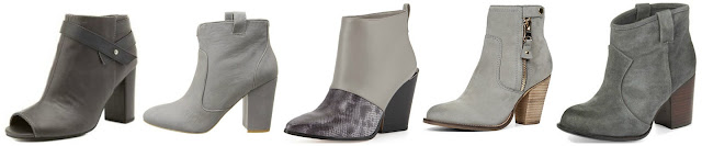 Charlotte Russe Belted Chunky Heel Peep Toe Booties $16.99 (regular $42.99)  French Connection Livvy $67.99 (regular $170.00)  BCBGMAXAZRIA Creed Snake Print Ankle Boot $85.49 (regular $244.25)  Aldo Olenalla $99.98 (regular $140.00) some colors as low as $69.99  Splended Lakota Ankle Boots $110.99 (regular $158.00)