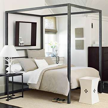 Simply put, a canopy bed has a cover on top of it. Though today's use of canopy  beds is more associated with elegance and glamour, the original purpose of  ...