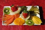 Hojaldre de frutas tarta de frutas