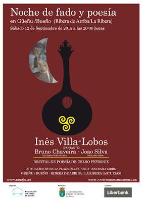 Noche de fado y poesía en Bueño