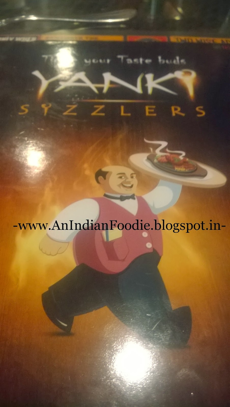 An indian foodie : yanki sizzlers, a good competition to sizzler ...