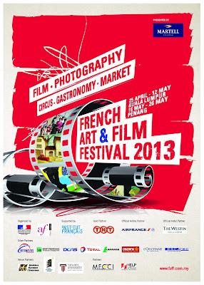 FAFF French Art & Film Festival 2013 MAIN POSTER