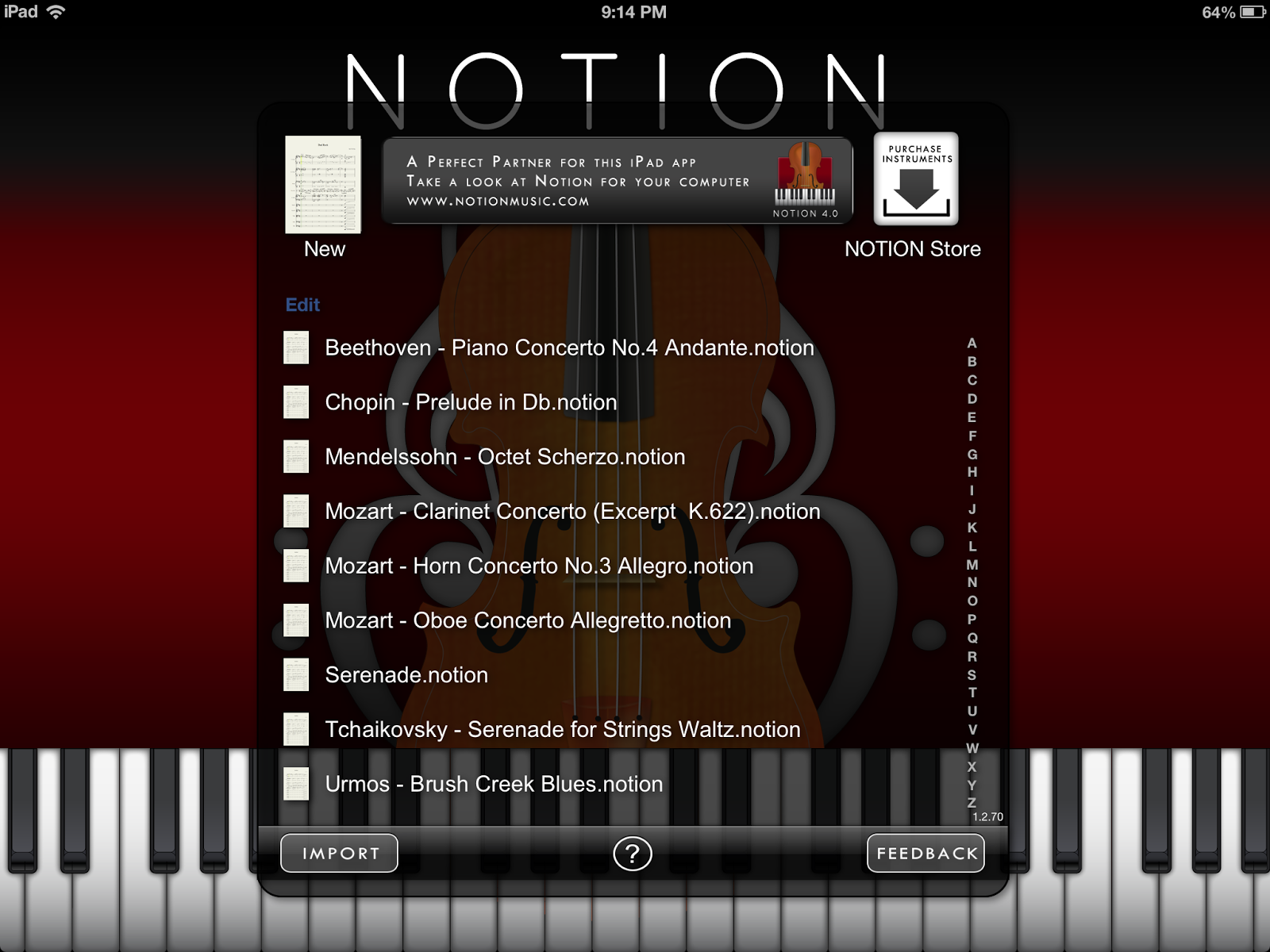 NOTION Una nueva forma de editar partituras