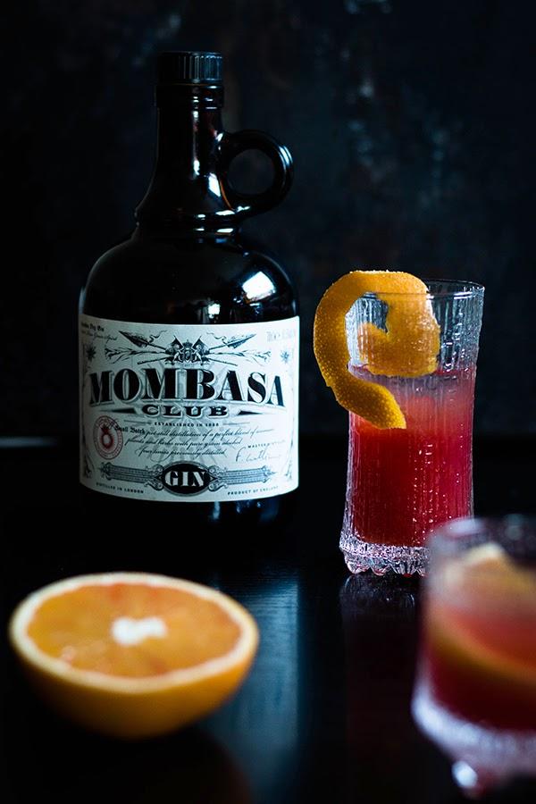 Blutorangen Negroni mit Mombasa Gin by seelenschmeichelei.blogspot.de