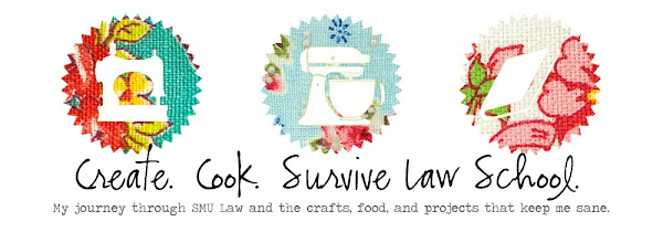 Create. Cook. Survive Law School.