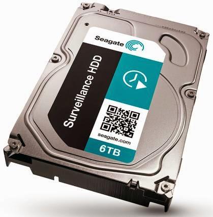 Seagate Unveils New Surveillance Hard Disk Drive
