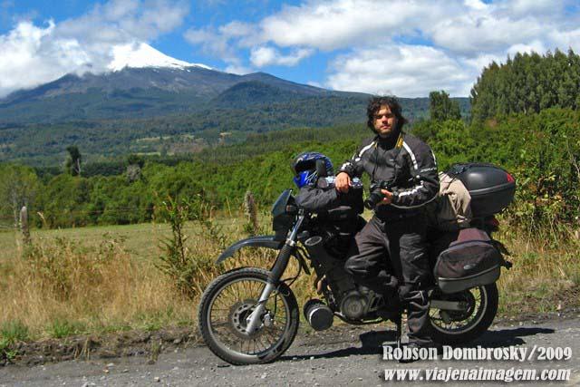 viagem de moto xt 600 patagônia