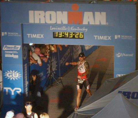 My IRONMAN Louisville Finish