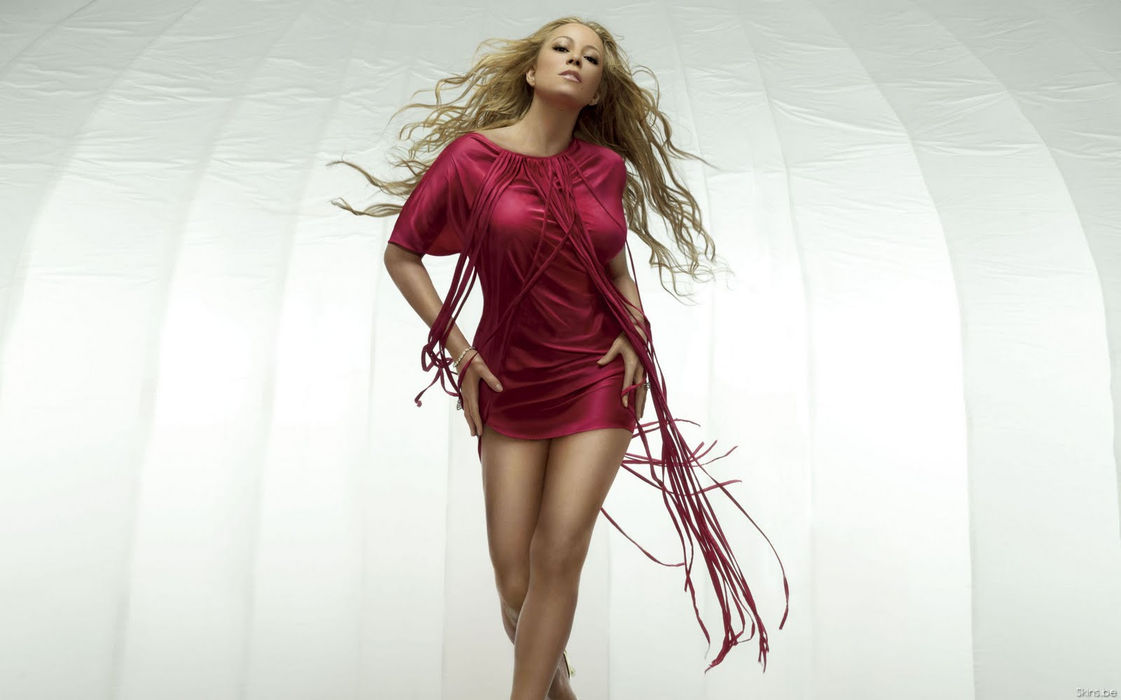Mariah-Carey-Red-Dresses-HQ-Wallpapers