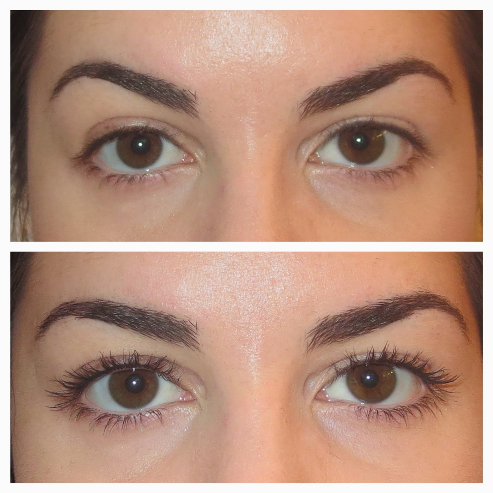 a picture of  Before & After Rimmel Wonder'Lash mascara