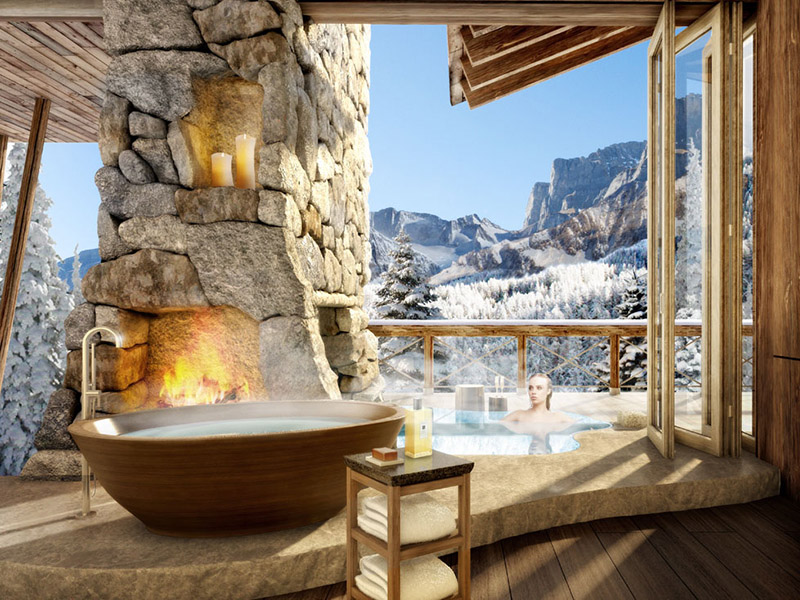 degrees  average  degrees   luxury home development   swiss alps